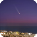 Comet Neowise rising from the Red Sea in Egypt,                                Mohamed Usama Ismail