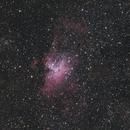 Eagle & Omega Nebulas,                                BQ_Octantis