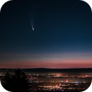 Comet C/2020 F3 (NEOWISE) over Stanford University at dawn,                                Steve Sells