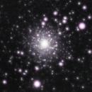 Hercules Cluster M13, Bortle 5, Spring 2021 | Guide Scope,                                psychwolf