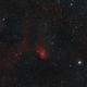Tulip Nebula Widefield RGBHaOIII,                                Bradley Hargrave