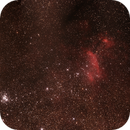 IC4628 Gum 56 Prawn Nebula in Scorpio between NGC6242 and NGC6231 Open Clusters,                                Geoff Scott