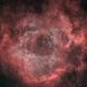 Rosette Nebula - HOO,                                Janco