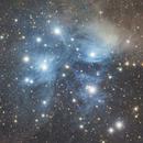 Messier 45 - Pleiades, Seven Sisters,                                Ou Mingzhi