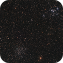 Messier 46 and Messier 47,                                leeasle
