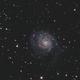 M101 with Samyang 135mm and ASI178MM,                                Ben