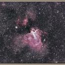 M17, Omega Nebula,                                Aarni Vuori