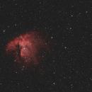 NGC 281 - Pacman Nebula - Aug/Sep 2018,                                Martin Junius