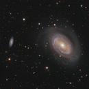 NGC4725 - Intermediate Barred Spiral Galaxy in Coma Berenices,                                Jan Sjoerd de Vries