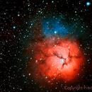 M20 The Trifid Nebula,                                Fred Bagni