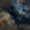 Butterfly Nebula - Sadr Region - SHO Hyperstar 4,                                Samara