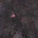 M16, M17, M18, M24, NGC6589, IC4715, IC1284,                                antares47110815
