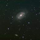 NGC4725 with asteroid 165 Eva,                                Станция Албирео