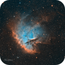 NGC281 a year later...,                                Tim Hutchison
