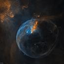 Hubble's Bubble - NGC 7635,                                Bogdan Borz