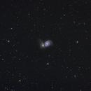 M51 Whirlpool galaxy,                                Nicolas JAUME