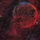 First light (Esprit 120ED). Supernova Remnant  CTB 1 / Abell 85 / SNR G116.9+00.1,                                Iñigo Gamarra
