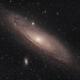 M31 Andromeda Galaxy (redux),                                  Jarrett Trezzo