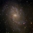 M33 RGB,                                RvB