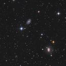 NGC 4145 & NGC 4151,                                Elmiko