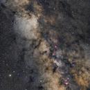 Milky Way from Aquila to Saggittarius,                                Boris Štromar