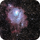M8 Lagoon Nebula,                                Bruce Graham