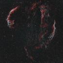 Veil nebula - HOO - Samyang 135,                                Lee
