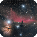 Flame and Horsehead region from 12-17-18,                                Scotty Bishop