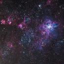 LMC ROI from Telescope Live,                                Mauricio Christiano de Souza