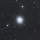 M13 RGB TS65 Quad apo (widefield) Revision,                                Alan Hancox