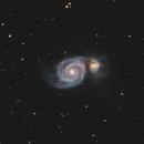 M51 HaLRGB - Whirlpool Galaxy,                                Victor Van Puyenbroeck