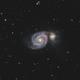 M51 HaLRGB - Whirlpool Galaxy,                                Victor Van Puyenb...