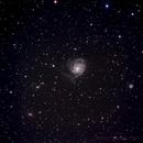 M101 Wide field,                                madhuprathi