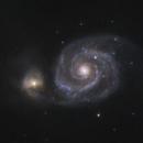 M51 - Whirlpool Galaxy, & Friends,                                Mark Germani