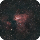 Swan Nebula with jjust 20 sec subs from Borlte 9 ( STC multispectra filter )/ Reprocess on pixinsight,                                Luis Marco Gutierrez