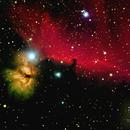 Horsehead + Flame Nebula (March 2017),                                Steve Cross