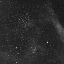 NGC 1907 and Ha Friends in Ha :-),                                Sigga