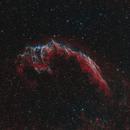 Eastern Veil nebula NGC 6992,                                Barry Wilson