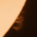 """Sun prominence animation """"2hours"""",                                Boštjan Zagradišnik"""