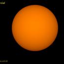 Solar parcial eclipse dez 2020 (GIF),                                Carlos Alberto Pa...