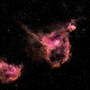 Heart and Soul Nebula,                                Kabir Jami