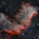 NGC 7000 The Wall,                                Roberto García