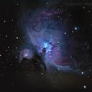 Messier 42,                                HekelsSkywatch