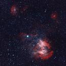 IC 2944 - The Running Chicken Nebula,                                Greg Sleap