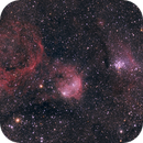 NGC 3324 + IC 2599  Gabriela Mistral (Open cluster and emission nebula),                                Pelayoaviles