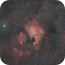 ngc 7000 & pelican of 30th July 2021 - 215 120 secs unguided subs,                                Stefano Ciapetti