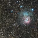 Messier 20 The Trifid Nebula,                                Fenton