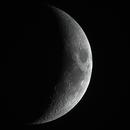 Moon (Waxing, Crescent, Ilumination 24%),                                Wanni