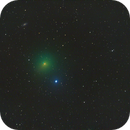 Comet 41P Tuttle–Giacobini–Kresák with Galaxy NGC 6015,                                Miles Zhou