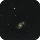 The Whirlpool Galaxy,                                Zach Coldebella